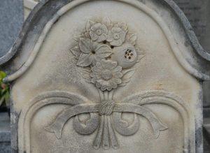 07 Fleurs Etole noeud